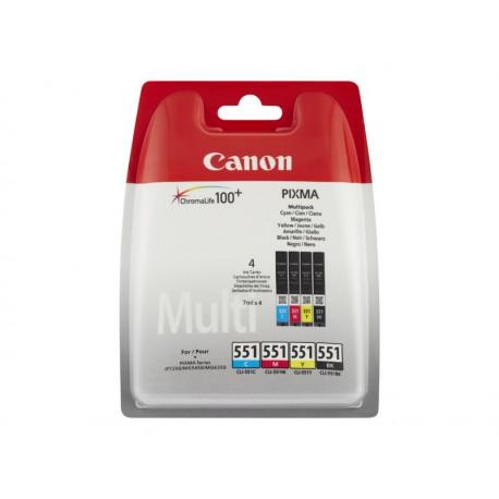 Canon CLI-551 C/M/Y/BK Multipack