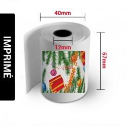 Bobines thermiques 57x40x12 IMPRIMER (Carton de 50)