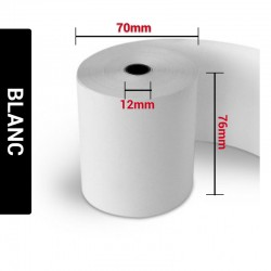 Bobines Pressing Blanc 76 x 70 x 12