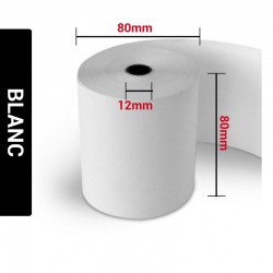 Bobines Thermiques 80x80x12 (Carton de 20)